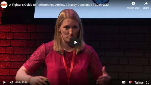 TEDx Talk on Performance anxiety